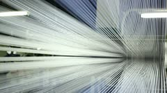Converging lines Stock Footage