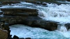 Multilevel waterfall Stock Footage