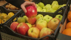 Apples 3 Stock Footage