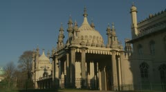 Brighton's Royal Pavilion (eight) - stock footage