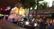 Mardi Gras Parade 2388 Stock Footage