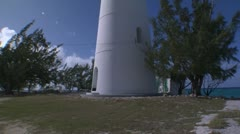 Inagua Lighthouse Stock Footage