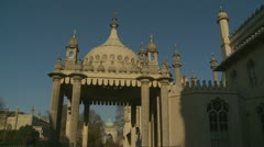 Brighton's Royal Pavilion (three) - stock footage