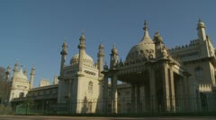 Brighton's Royal Pavilion (two) Stock Footage