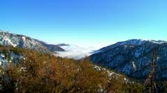 Snow Mountain Peak Stock Footage