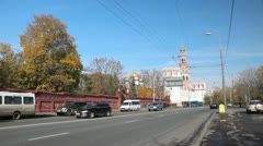 Stock Video Footage of Novodevichy Convent