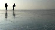 Ice skating Stock Footage