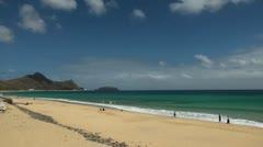 Timelapse Porto Santo beach 20110423 153216tpx6 Stock Footage