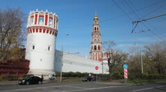 Novodevichy Convent - stock footage