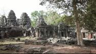 Stock Video Footage of Pan of Banteay Kdei
