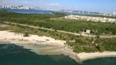 Virginia Key, Miami, Florida Stock Footage