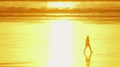 Enlightenment at the Beach Stock Footage
