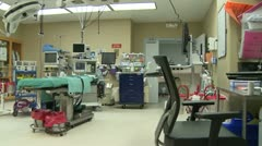 Robotic operating room (2 of 4) Stock Footage