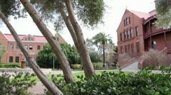 ASU Old Main-Arizona State University Stock Footage