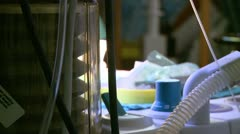 Robotic removal of the uterus (13 of 15) Stock Footage