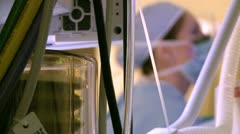Robotic removal of the uterus (14 of 15) Stock Footage