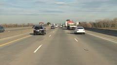 Freeway Driving I80 kohti Sacramento 1 Arkistovideo