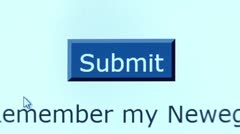 """""""Submit"""" button. Internet Shopping. Stock Footage"""