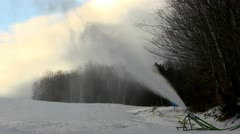 Pumping out the snow; 2 - stock footage
