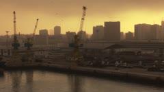 port casablanca - stock footage