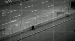 Modern surveillance Stock Footage