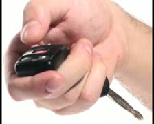 Remote car key V2 - PAL Stock Footage