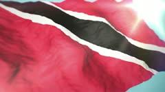 3d Trinidad and Tobago Stock Footage