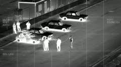 modern surveillance flir 2/5 - stock footage