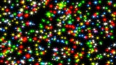 Animated lights flying rarely Stock Footage