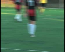 Soccer match V25 - PAL - stock footage