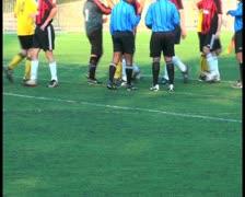 Soccer match V22 - PAL - stock footage