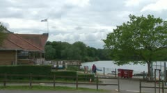 Hanningfield Reservoir Visitor Centre Stock Footage
