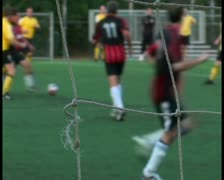 Soccer match V12 - PAL - stock footage
