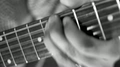 Guitar Player Stock Footage