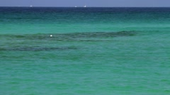 Blue waters of the Gulf of Mexico - stock footage