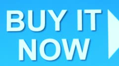 """Buy it Now"" button. Internet Shopping. Stock Footage"