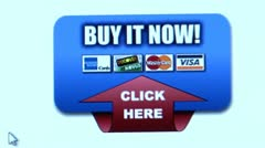 """Buy it Now!"" button. Internet Shopping. - stock footage"