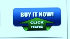 """Buy it Now!"" button. Internet Shopping. Stock Footage"