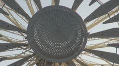 Details of a Ferris-wheel Stock Footage