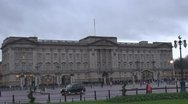 Beautiful Buckingham Palace, London Stock Footage