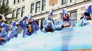 Mardi Gras Parade 2401 Stock Footage