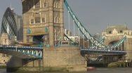 Amazing Tower Bridge Stock Footage