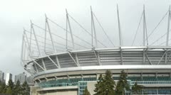 BC Place Stock Footage