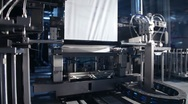 Stock Video Footage of Automated machine