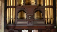 Church Organ Stock Footage