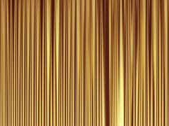 Opening curtain Stock Footage