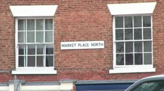 Ripon Market Place Stock Footage