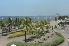 Seaside park Stock Footage