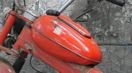 OLd motorbike 004 Stock Footage