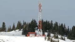 Stock Video Footage of radio antena 002